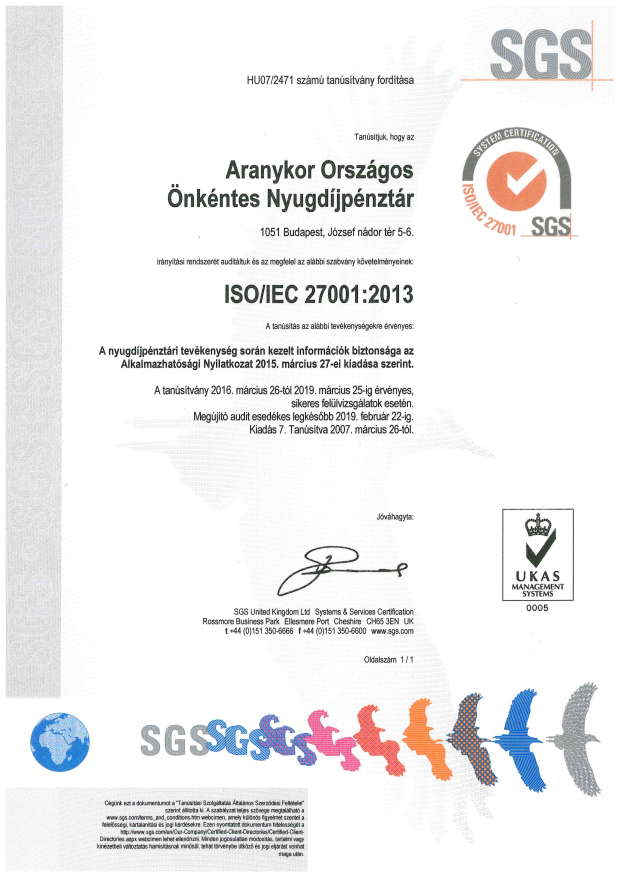 SGS-ISO 27001